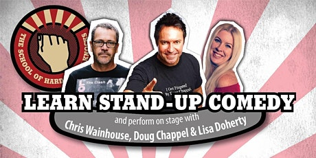 Learn stand-up comedy in Melbourne this October with Doug Chappel tickets
