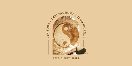 Yin Yoga + Crystal Bowl Sound Journey with Shian Love tickets