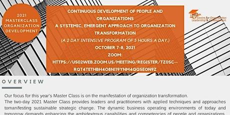 Global Organization Development (OD), Leadership & Governance Masterclass tickets