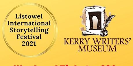 Listowel International Storytelling Festival 2021 - 17th -19th September 21 tickets
