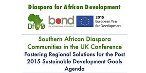 DfAD Southern African Diaspora Communities in the UK...