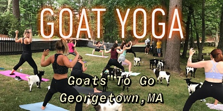 Halloween Goat Yoga with Goats in Costume tickets