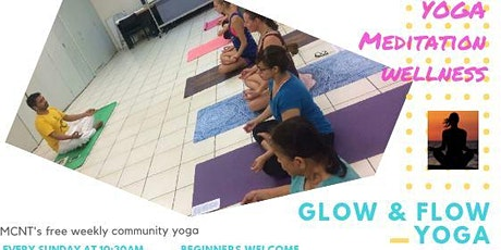 Glow and Flow Yoga Classes. (Now at Filipino Hall) FROM 9.30AM NOW tickets