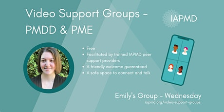 IAPMD Peer Support For PMDD/PME - Emily's Group tickets