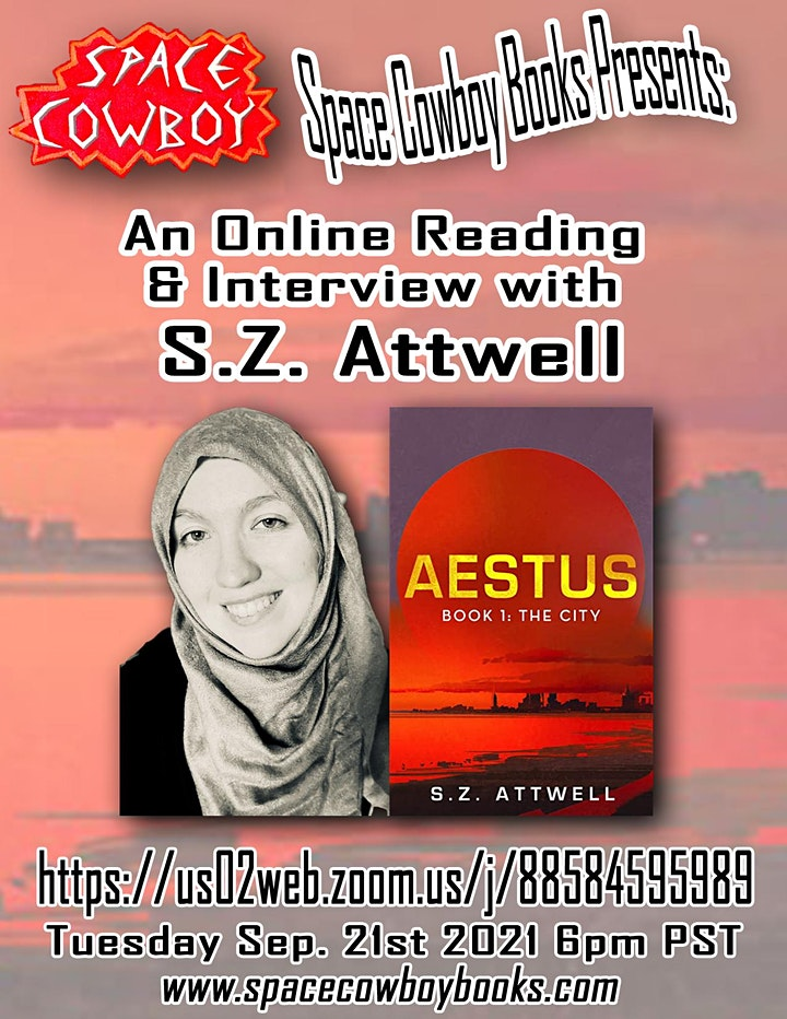 Online Event: Reading & Interview with S.Z. Attwell image