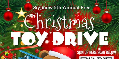 Siypnow 5th Annual Christmas Toy Drive tickets