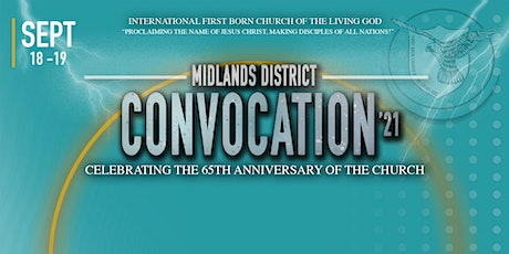 IFBC 65th Anniversary & Midlands District Convocation tickets
