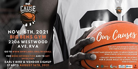 RVA Ball For A Cause Charity Basketball Game 2021 tickets