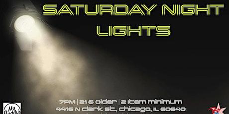 Saturday Night Lights tickets