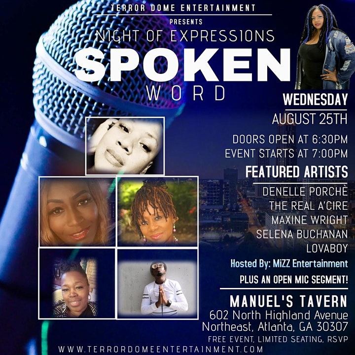 Night Of Expressions Spoken Word image