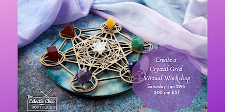 Create Your Own Crystal Grid: Virtual Workshop tickets