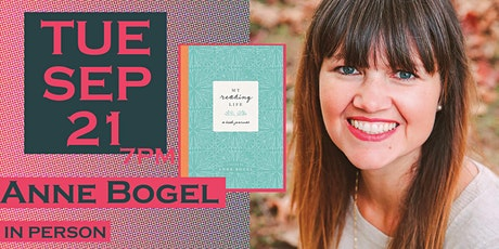 Anne Bogel launches My Reading Life: A Book Journal tickets