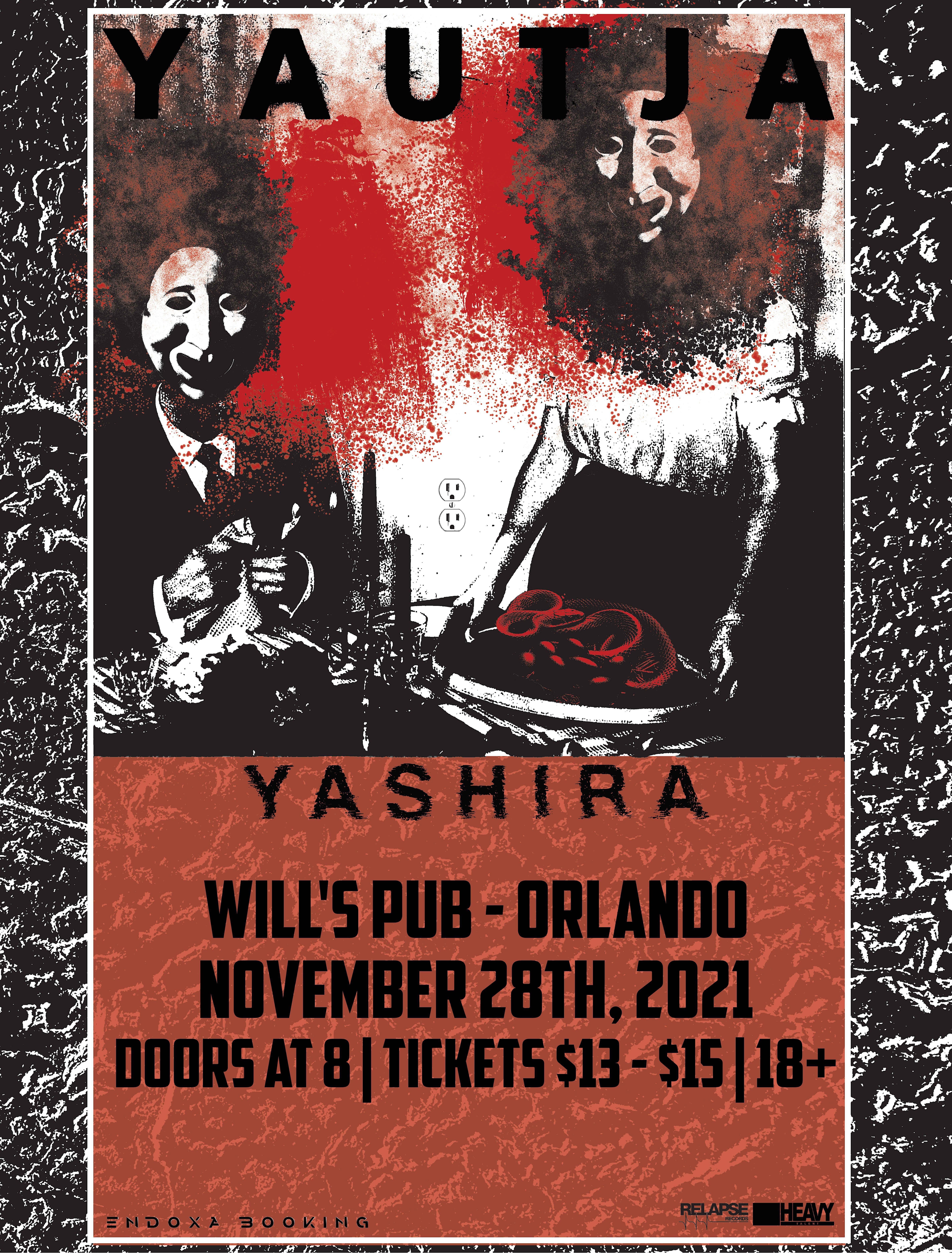 Yautja, Yashira, and more at Will's Pub