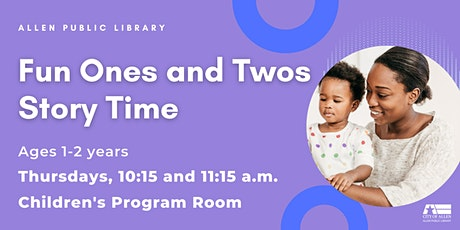 Fun Ones and Twos Story Time: October tickets