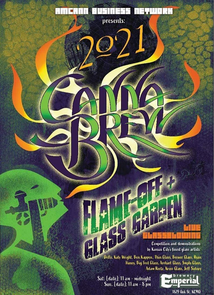 Amcann Business Network Presents : CannaBrew Flame off & Glass Garden image