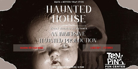 Ten Pin Haunted House tickets