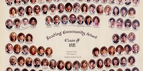 Reading High School - Class of 1981 40-Year Reunion tickets