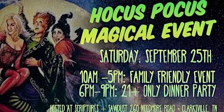 Hocus Pocus Magical Event tickets