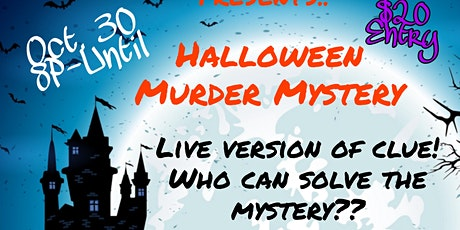 HALLOWEEN MURDER MYSTERY‼ tickets