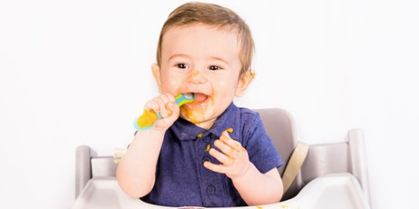 LIVE Introducing Solids to Baby, 0-7 Months tickets