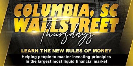 Wall Street Thursday's tickets