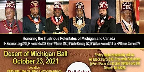 Michigan Prince Hall Shriners - Desert Ball Weekend tickets