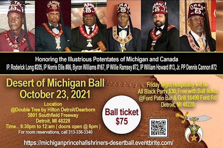 Michigan Prince Hall Shriners - Desert Ball Weekend image