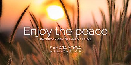 Free Guided Meditation Workshops - Sahaja Yoga Meditation tickets