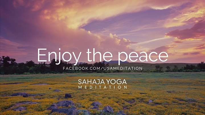 Free Guided Meditation Workshops - Sahaja Yoga Meditation image