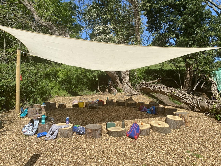 Babies and Toddlers Forest School Stay & Play @Explorers image