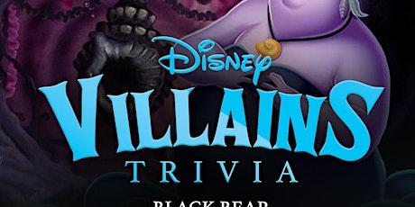 Disney Villains Trivia tickets