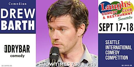 Comedian Drew Barth tickets