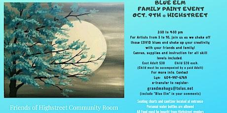 Blue Elm Family Paint Event tickets