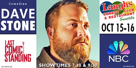 Comedian Dave Stone tickets