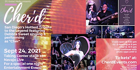 Cher'd Tribute Band at Navajo Live tickets
