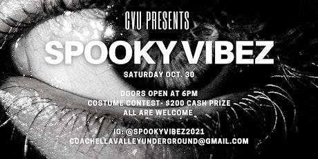 Spooky Vibez Halloween Party tickets