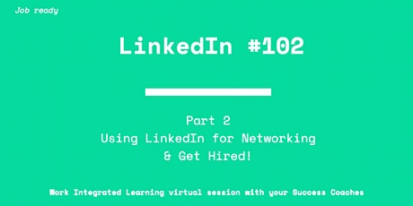 LinkedIn for Networking #102 tickets