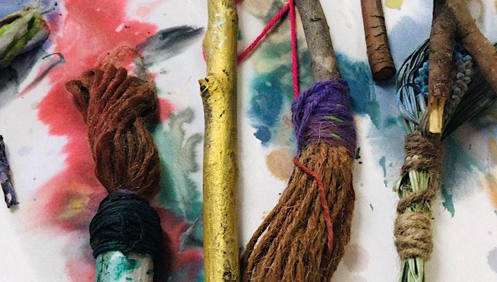 Brush & Mark Making Workshop image