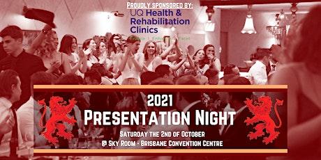 UQAFC 2021 Presentation Night tickets