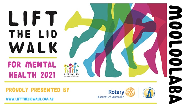 LIFT THE LID WALK for Mental Health - MOOLOOLABA 2021 image