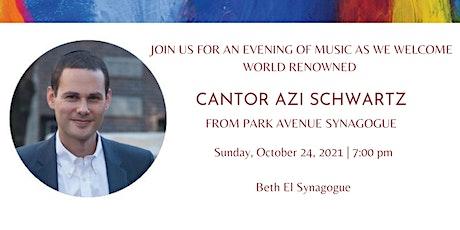 An Evening of Music with Cantor Azi Schwartz tickets