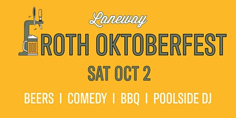 Froth OktoberFest  | Laneway Cairns tickets