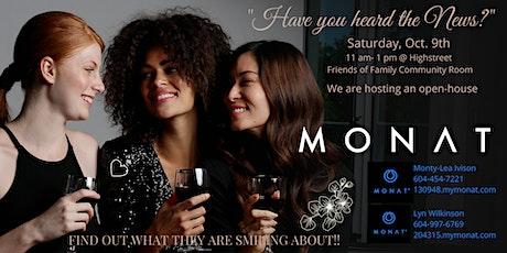 Meet MONAT Social tickets