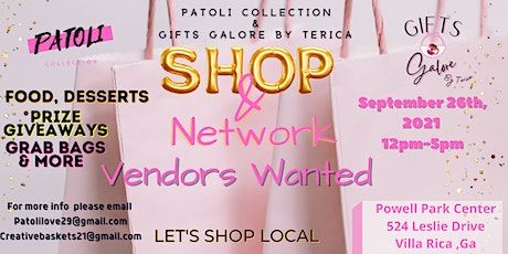 Shop & Network  With Small Local Businesses - Pop Up Shop tickets