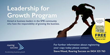 Leadership for Growth tickets