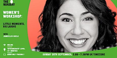 Online Women's Workshop: Little Moments, Big Laughs tickets