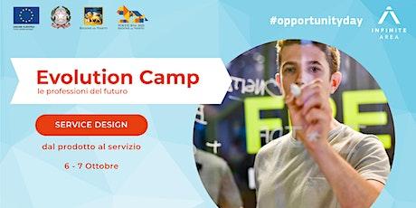 Evolution Camp #servicedesign biglietti