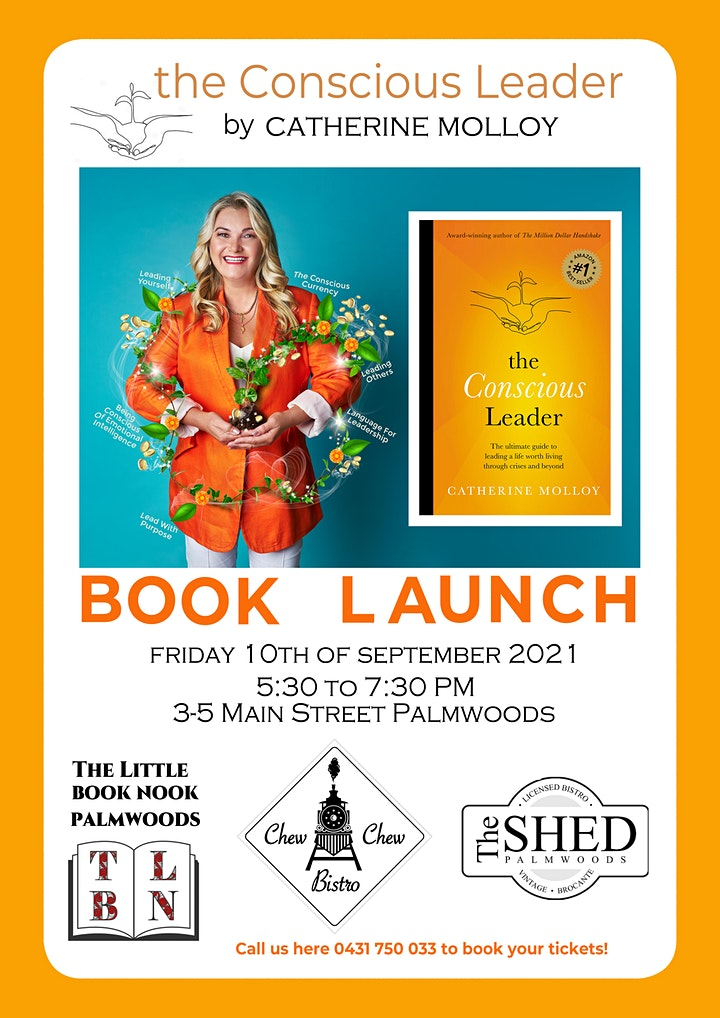 The Conscious Leader Book Launch image