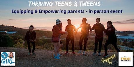 Thriving Teens & Tweens - West Auckland tickets