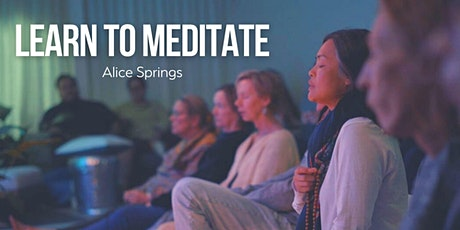 Learn to Meditate - Alice Springs tickets